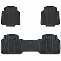 Utility Floor Mats For Car Truck Suv All Weather Protection Black on sale