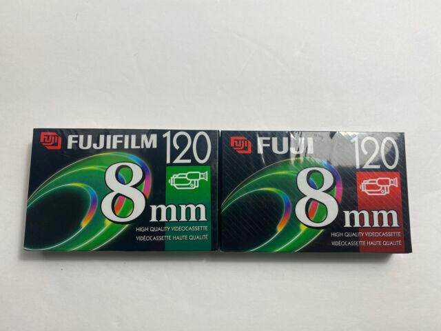 2 Fuji 8mm High Quality Videocassette 120