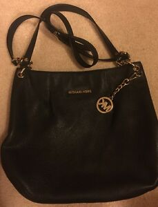 Image is loading MICHAEL-KORS-FULTON-LEATHER-MEDIUM-SHOULDER-TOTE-BAG- bbb484fb79e9b