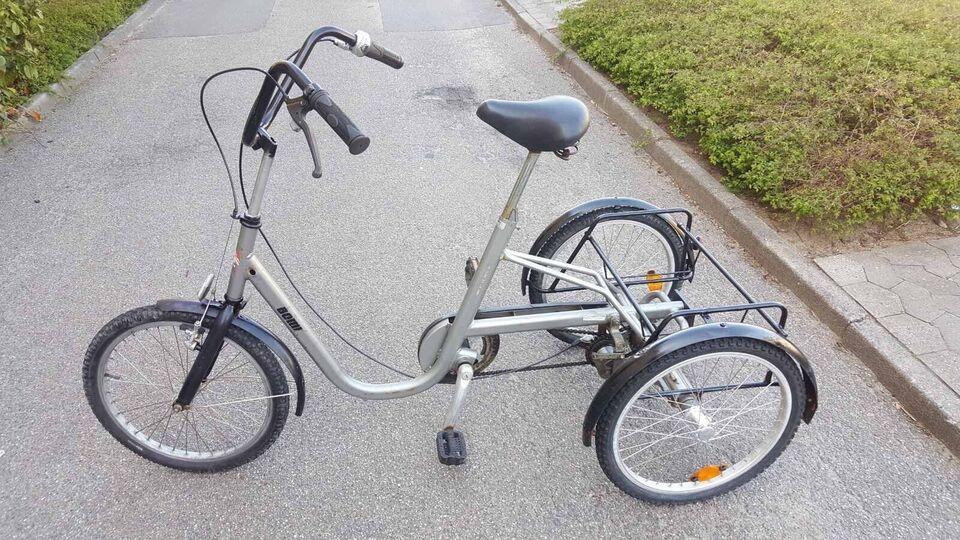Handicapcykel, Boml, 7 gear