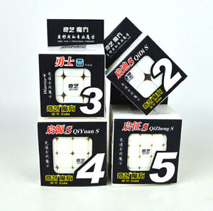 Qiyi 2x2 3x3 4x4 5x5 Qidi Warrior Qiyuan Qizheng Magic Stickerless Puzzles Cube