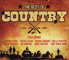 THE BEST OF COUNTRY - VARIOUS ARTISTS (NEW SEALED 2CD) JOHNNY CASH - PATSY CLINE