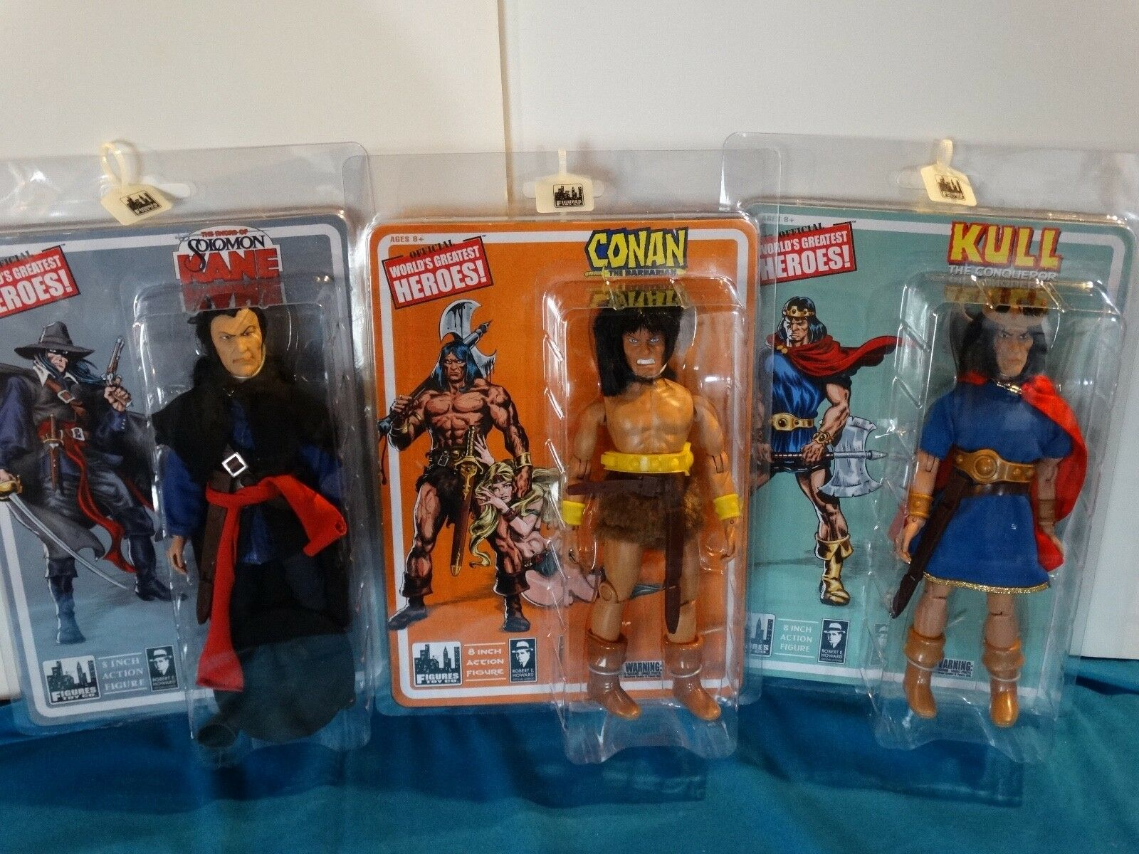 Figures Toy Company 8  Conan   Kull   Soloman Kane
