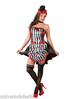 Abile Costume Can Can Country Burlesque Tg Da 40 A 42