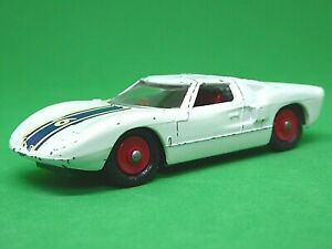 Matchbox-Lesney-No-41c-Ford-GT-40-rara-Rojo-hubs