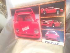 PROTAR FERRARI F40 TURBO MODEL KIT 1/12 MOD.199T EDIZIONE LIMITATA