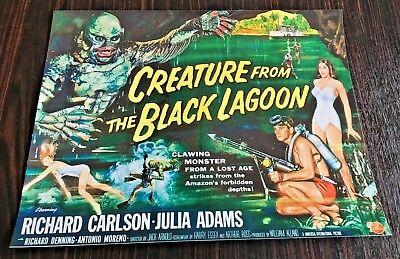 Affiche Creature From The Black Lagoon Lagon Noir 38x30 Tbe Elegant In Stijl