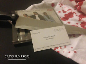 40 x american psycho patrick bateman business cards halloween image is loading 40 x american psycho patrick bateman business cards colourmoves