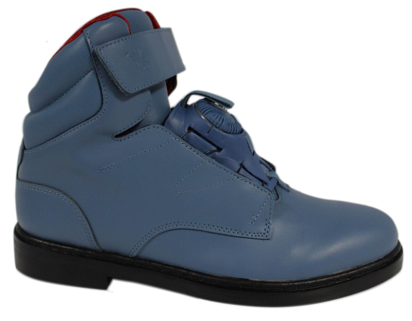 Puma Mihara Yasuhiro My-78     Herren Disc Brogue Stiefel Schuhes Blau 357081 02 M11 9c4d58