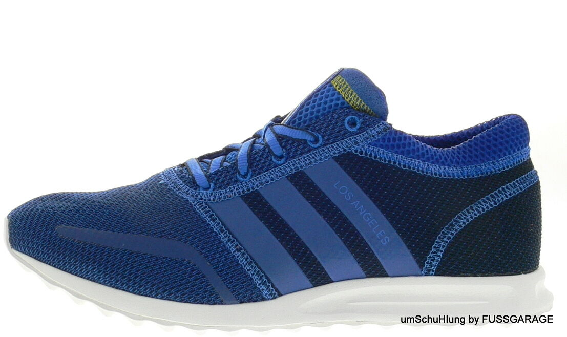 adidas Originals Turnschuhe LOS ANGELES blau weiß AF4229 Sportschuhe TOP NEU