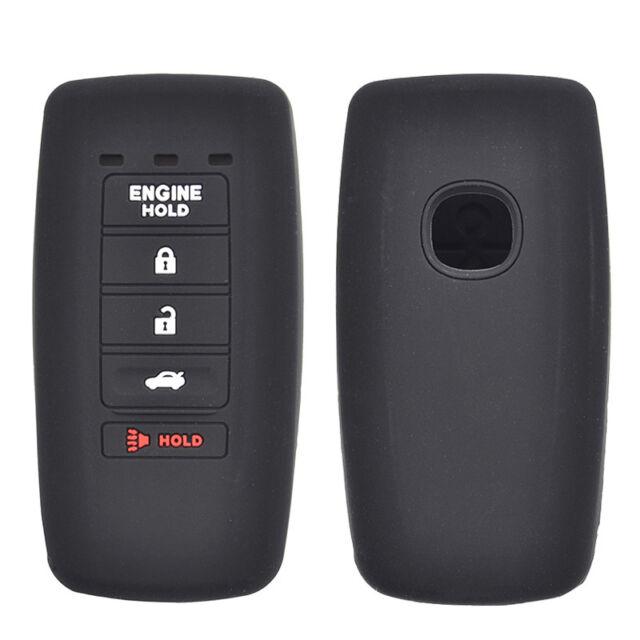 Silicone Remote Key Case Fob Cover For Acura MDX ADV RDX