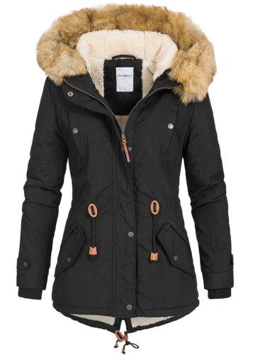 invernale Lifestyle B18119034 con con di nera da donna 50 77 Giacca sintetica pelliccia sconto Jacket cappuccio U0ERwqwp1