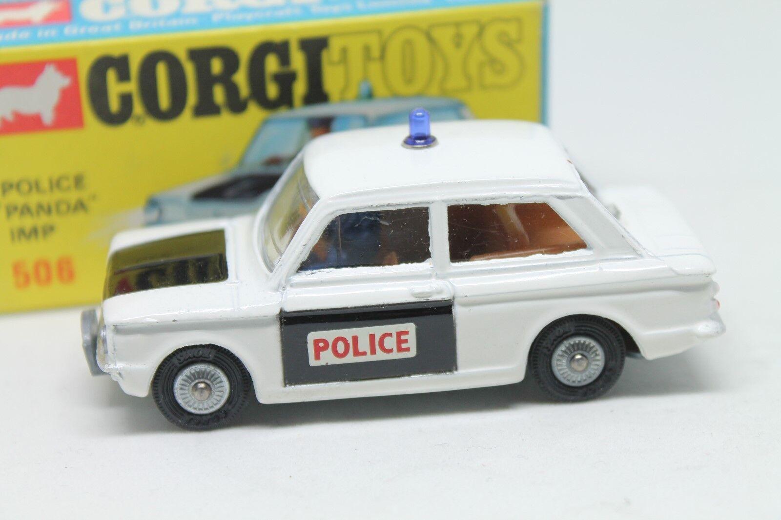 CORGI giocattoli 506  Sunbeam PeA pim  polizia  MINT  OVP  1968