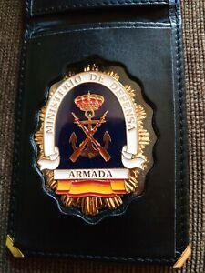 Cartera Porta Placas Con Placa metalica De la legion Española