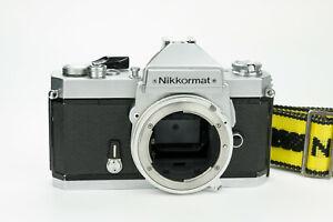 Nikkormat FT3 35mm film camera reflex analogica Nikon obiettivi lenses