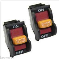 [hom] [bd46125] (2) Ridgid Ryobi Bd46023 (j-9301 E156275) Power Switch