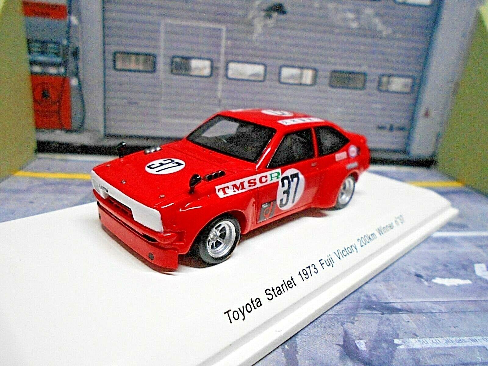 Toyota Starlet trajet Voiture taille 5 1973  37 kukitome Winner Spark SP rêve 1 43