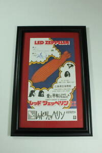 ROBERT-PLANT-SIGNED-AUTOGRAPH-FRAMED-CONCERT-TOUR-POSTER-LED-ZEPPELIN-VERY-RARE