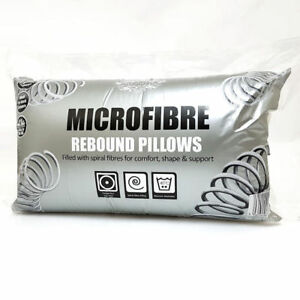 Microfiber-Cotton-Rebound-Pilows-Luxury-Soft-Hollowfibre-Filled-Pillow-Pack-of-8