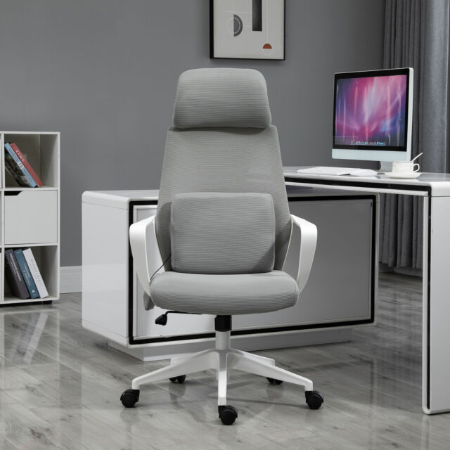 Linon Pamela Office Chair Grey For Sale Online Ebay