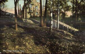 Ansonia-CT-The-Steps-c1910-Postcard