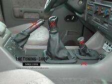 Para Land Rover Discovery 200TDI 300TDI Gear y Hi-Low & Polaina De Cuero De Freno De Mano