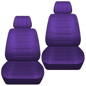 Fits-2009-2018-Honda-Jazz-front-set-car-seat-covers-purple