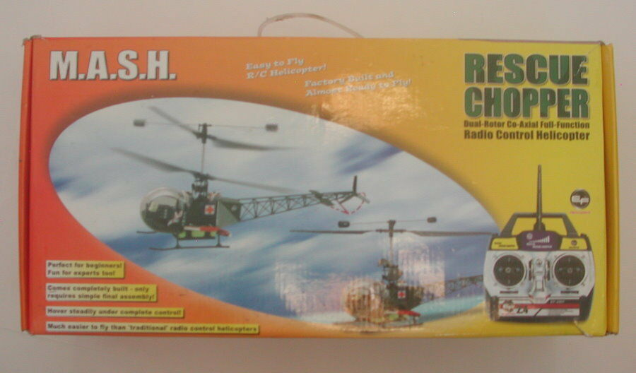 EF EF EF Helicopters M.A.S.H. Rescue Chopper In Box R16275 7f8fde