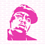 Notorious BIG Stencil Reusable Stencils of Notorious BIG in Multiple Sizes