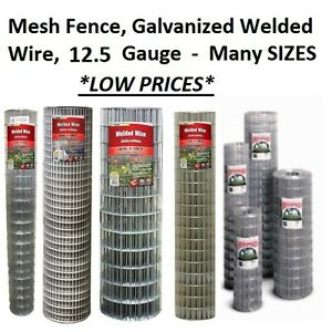 Many Sizes Amp Options Galvanized Welded Wire Mesh Cage