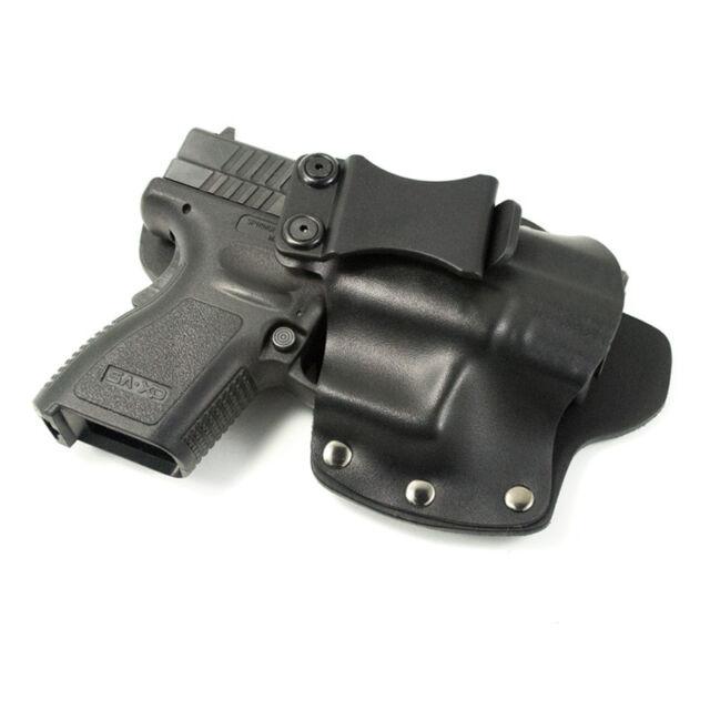 Makarov, SCCY, Steyr - IWB Hybrid Concealed Carry Holster - Kydex & Leather