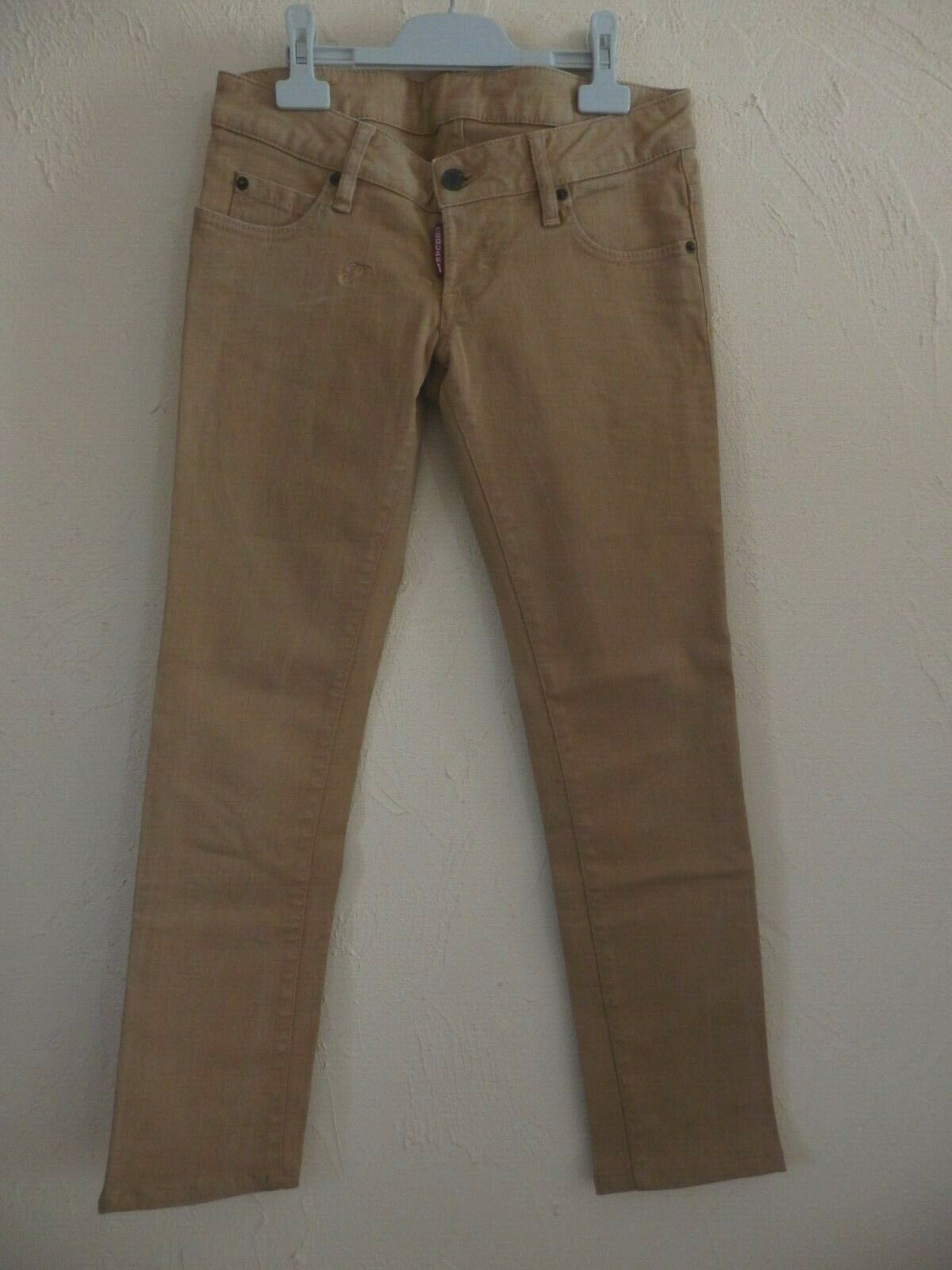 DSQUARED 2 - JEANS 3 4 - MarroneeE - T. 40it soit 36fr - AUTENTICO