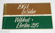 Betriebsanleitung Owner's Manual Buick Le Sabre / Wildcat / Electra 225, 1964