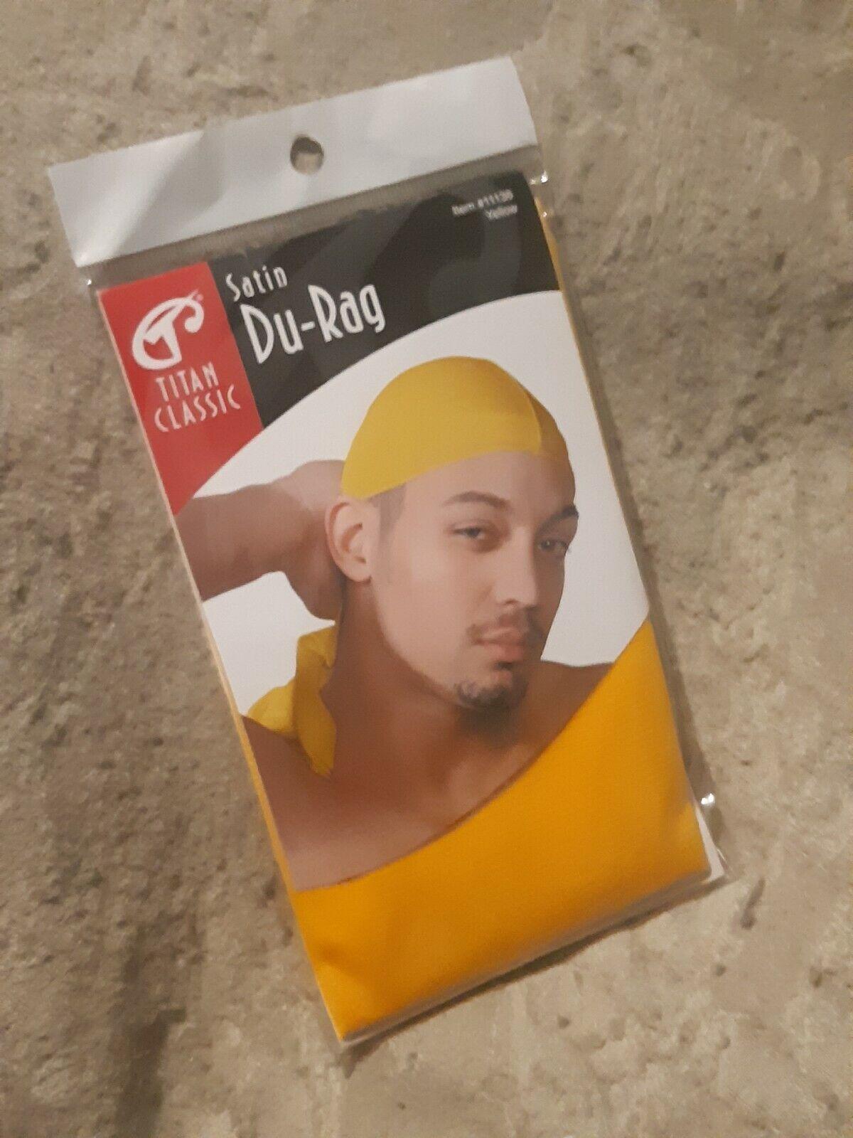 Yellow Satin Durag