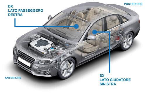 TAPPO LAVAF DX BMW SERIE 5 07 GT 01//13/>