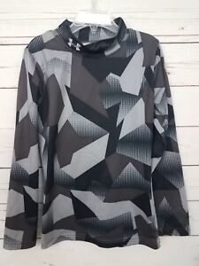 enlace tuyo Púrpura  D2 Youth Under Armour Cold Gear Long Sleeve Fitted Coupe Ajustee Shirt YXS  | eBay