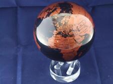 Mova Copper and Black 4.5 inch Motion Globe Planet Earth.