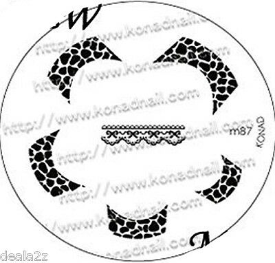 M87 IMAGE PLATE - Konad Stamping Nail Art Design Nail NEW USA SELLER