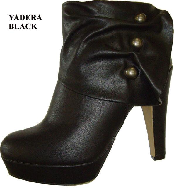 NEW Women's Pumps Platform Zip Closure High Heels Ankle Boots  Shoes size: 5- 10