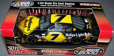 2000 Preview RC 1/24 MICHAEL WALTRIP #7 Nations Rent Chevrolet Monte Carlo