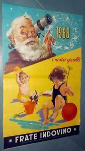 Calendario Frate Indovino.Dettagli Su Calendario Frate Indovino Originale 1968 I Nostri Gioielli