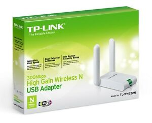 TP-Link TL-WN822N High Gain Long Range USB 2.0 Wireless N Adapter