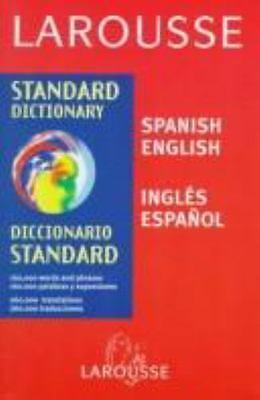 Larousse Diccionario Standard : Espanol-Ingles - English-Spanish (ExLib) |  eBay
