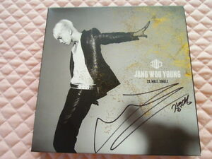 2PM-Wooyoung-23-Male-Single-Gold-Edition-Signed-Autographed-CD-K-POP-Sexy-Lady
