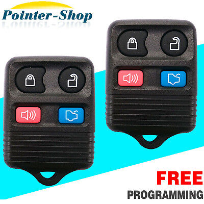 New Replacement Keyless Entry Remote Fob Transmitter For Ford + 40 Bit Key