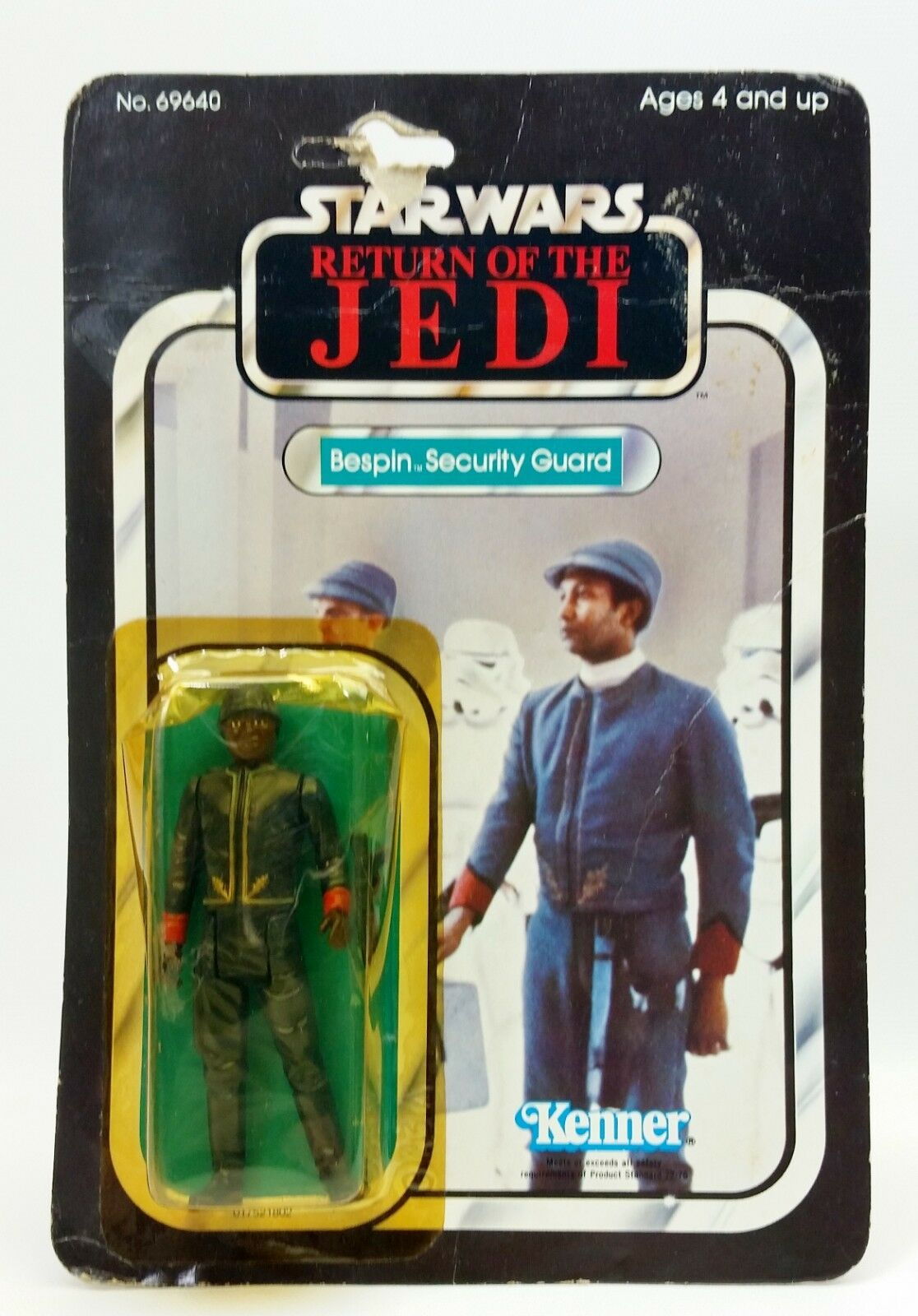 1983 Star Wars Return Of The Jedi Bespin Security Guard Action Figure No. 69640