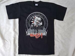 24th-Bulldog-Bash-1987-Hells-Angels-Black-T-Shirt-Cotton-Big-Red-Machine