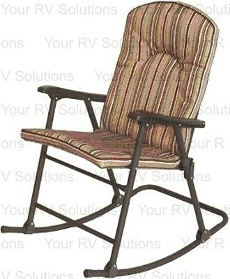 Beau Prime Products Cambria Series Padded Rocking Chair, Red Rock 726084850286 |  EBay