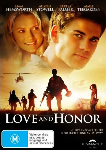 1 of 1 - Love And Honor (DVD, 2012) Liam Hemsworth, Teresa Palmer
