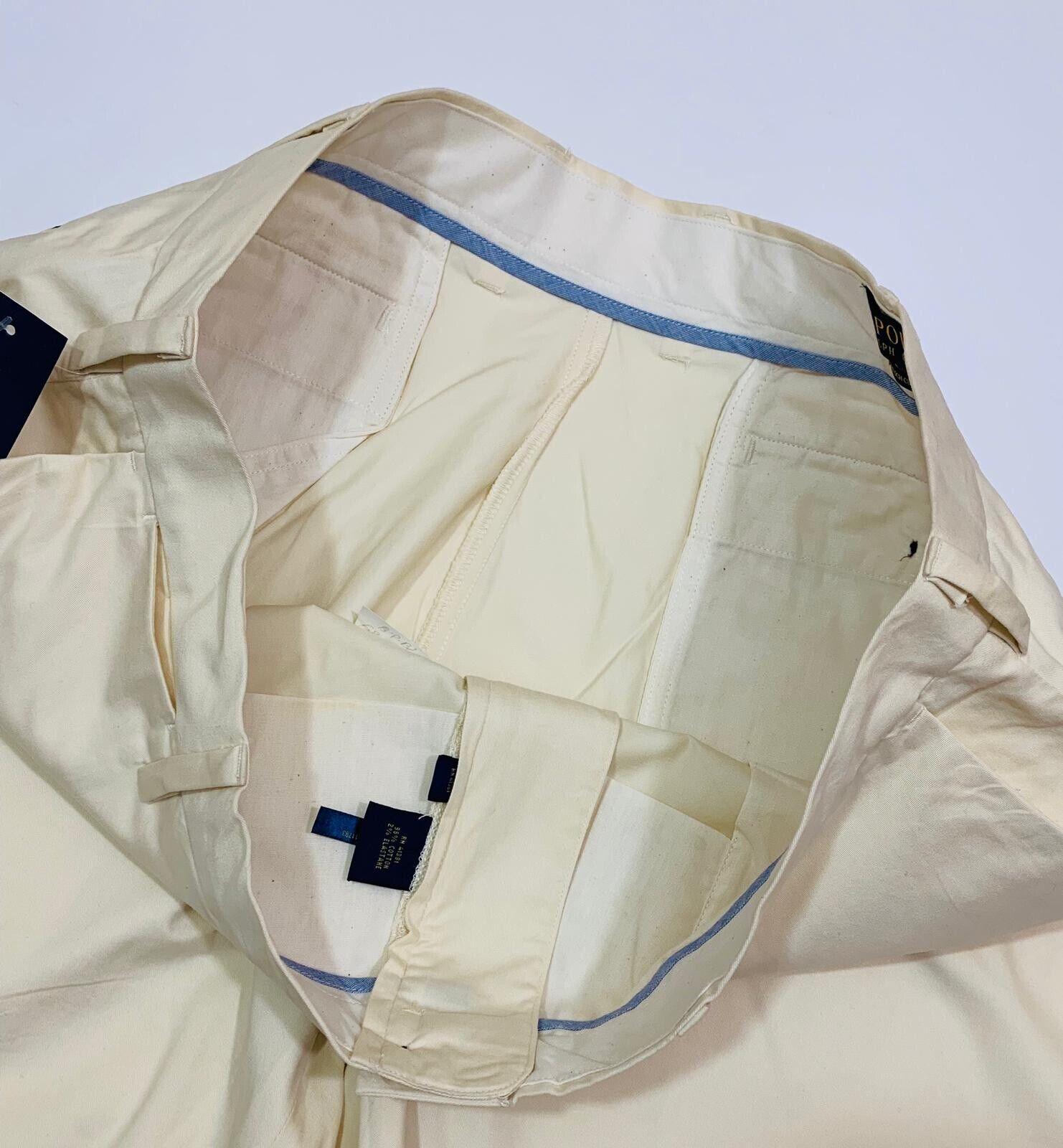 Ralph LAUREN uomo STRETCH CLASSIC FIT Pantaloni Corti Corti Corti (sabbia) RRP f3303b